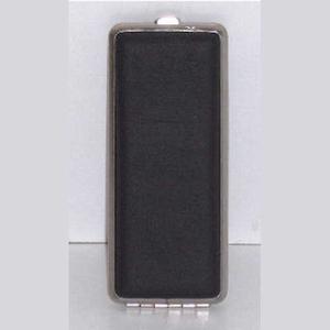 Sigarettenkoker 8 ZW/CHR 100 MM kunstleder