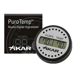 Hygrometer Xikar digitaal rond