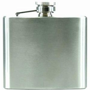 Flask staal geschuurd 150 ml