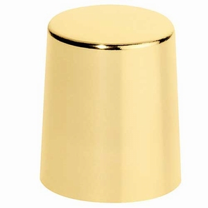 Afsluitdop goud aluminium
