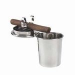 Asbak sigaar Cup RVS