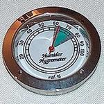 Hygrometer chroom
