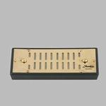 Bevochtiger acrylpoly goud 16x7,5cm