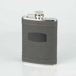 Flask rubber grijs met trechter 180 ml