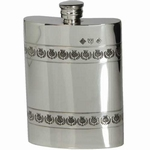 Flask Edeltin met distelbanden 170 ML